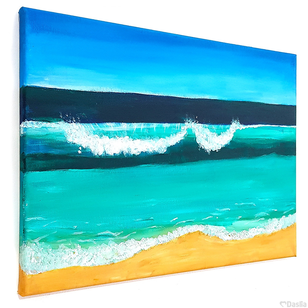 Coastal Waves Painting