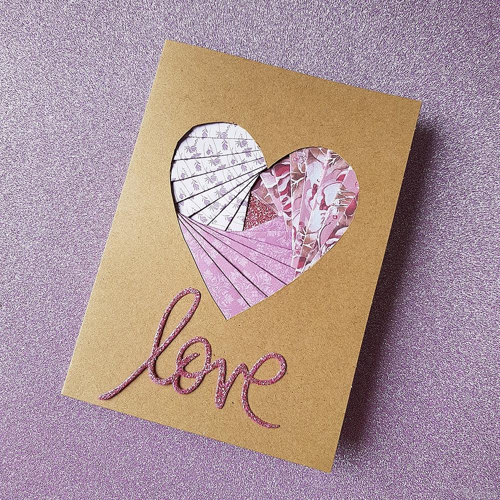 Love Iris Card