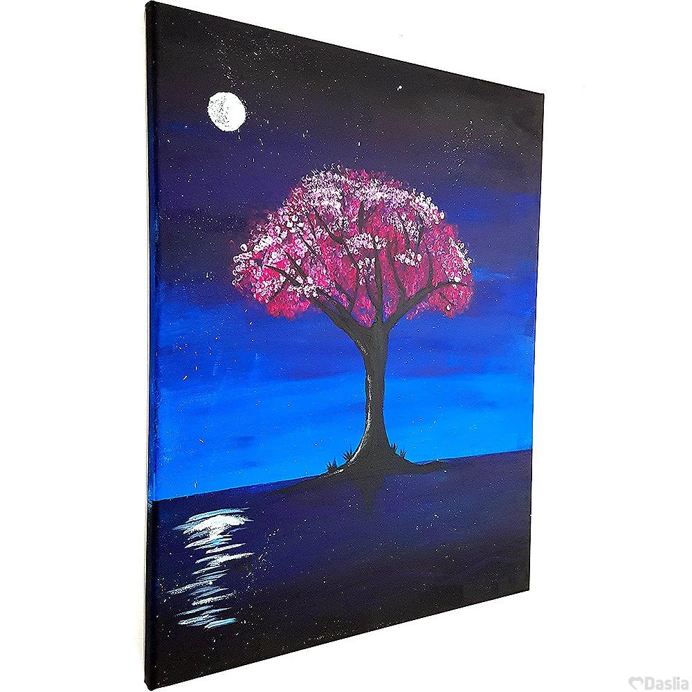Night Blossom Painting