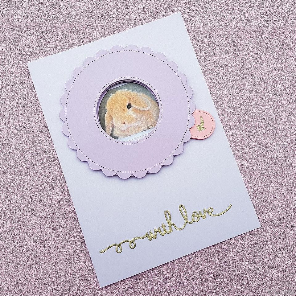 Personalised Iris Shutter Card