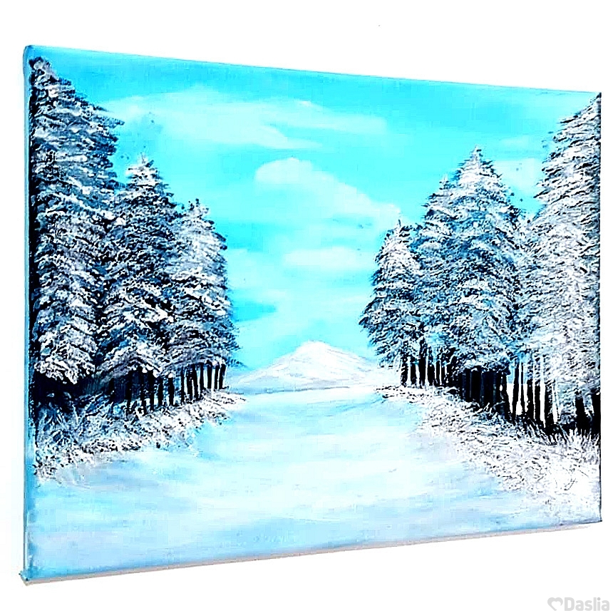 Winter Snow Painting