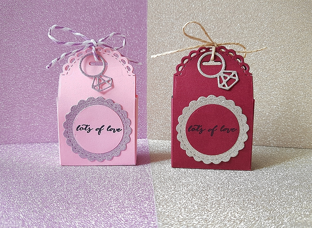 Lots Of Love Wedding Favour Boxes